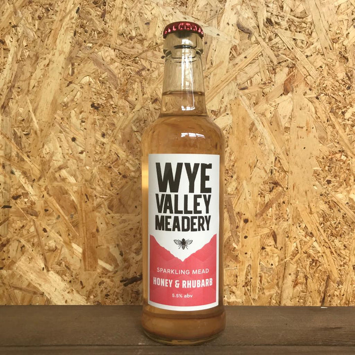 Wye Valley Meadery Honey & Rhubarb 5.5% (330ml)