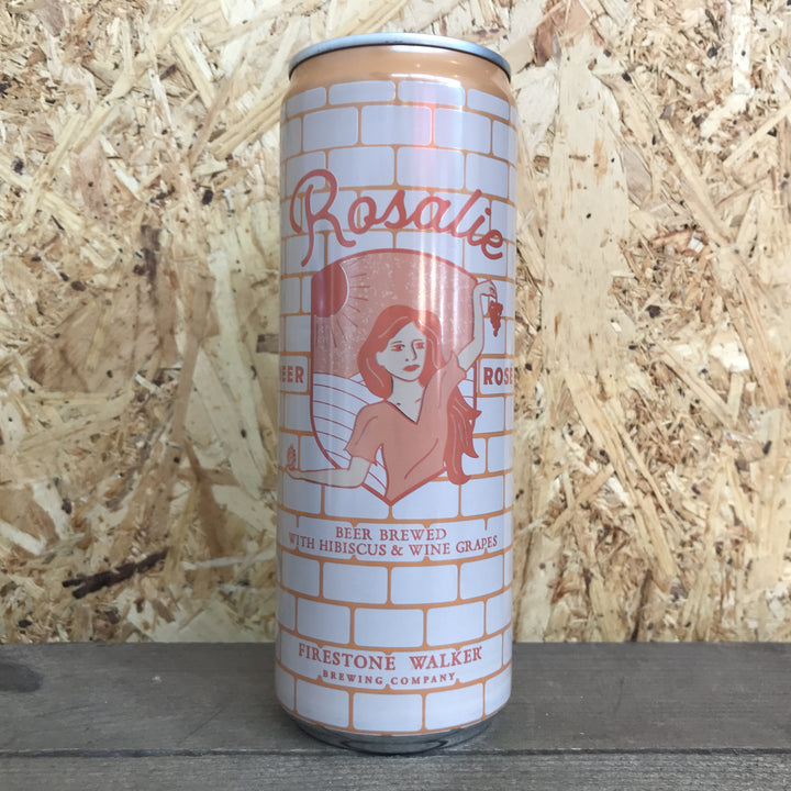 Firestone Walker Rosalie Beer Rose 5% (355ml)
