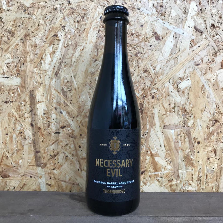 Thornbridge Necessary Evil Bourbon Barrel Aged Stout 13% (375ml)