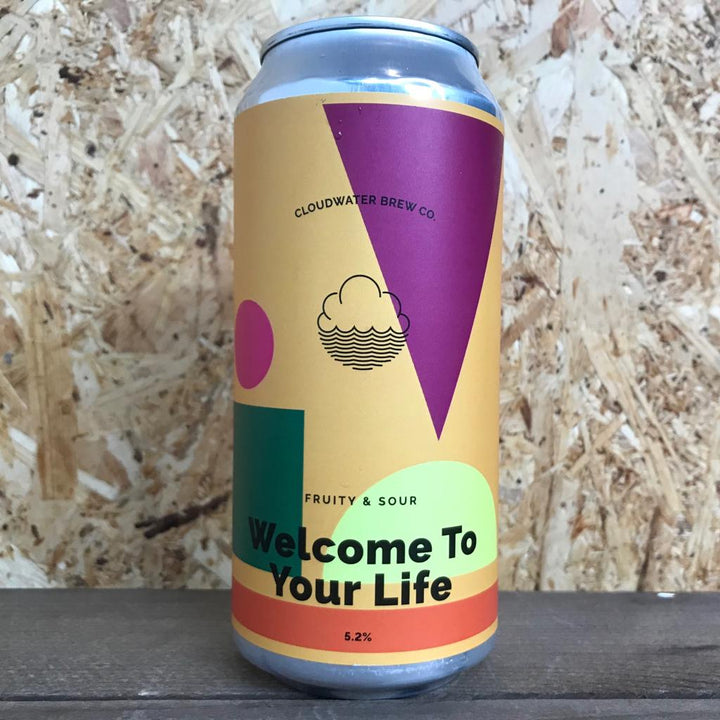 Cloudwater Welcome To Your Life 5.2% (440ml)