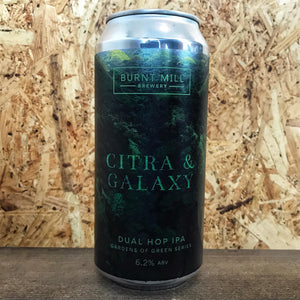 Burnt Mill Gardens of Green IPA Citra & Galaxy 6.2% (440ml)