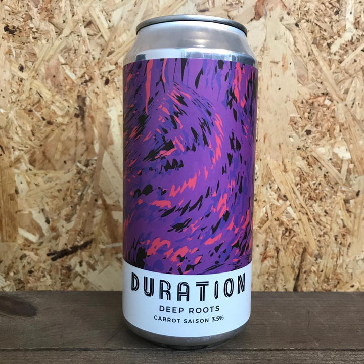 Duration Deep Roots Carrot Saison 3.5% (440ml)