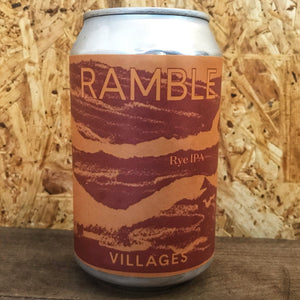 Villages Ramble Rye IPA 4.4% (330ml)