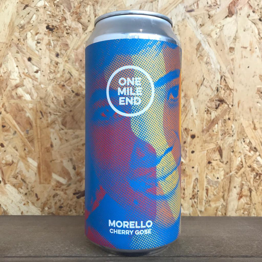 One Mile End Morello Cherry Gose 4.2% (440ml)