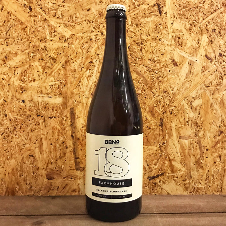 Brew By Numbers 18 Farmhouse Bacchus Blonde Ale 7.4% (750ml)