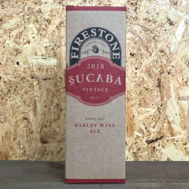 Firestone Walker Sucaba Barleywine 2018 12.5% (355ml)