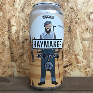 Gipsy Hill Haymaker Pils 4.2% (440ml)