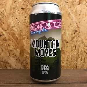 Neon Raptor Mountain Moves DIPA 8% (440ml)