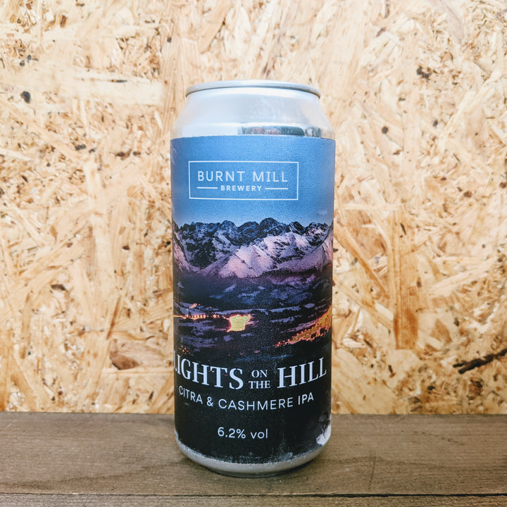 Burnt Mill Lights on the Hill IPA 6.2% (440ml)