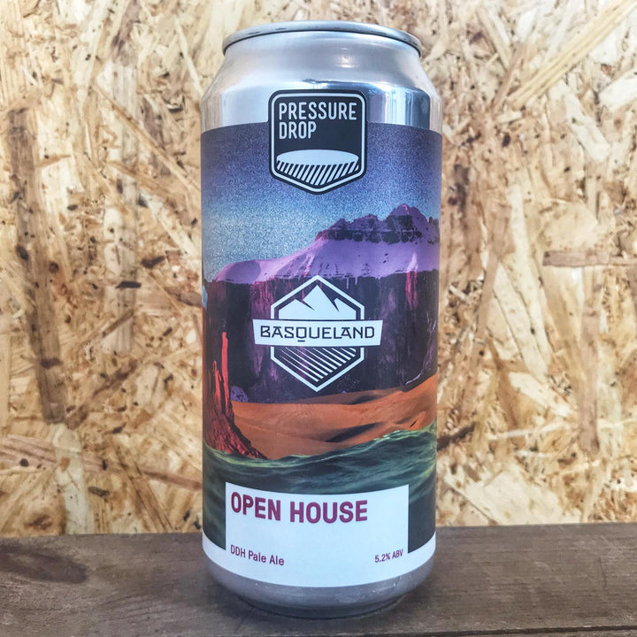 Pressure Drop x Basqueland DDH Open House Pale Ale 5.2% (440ml)