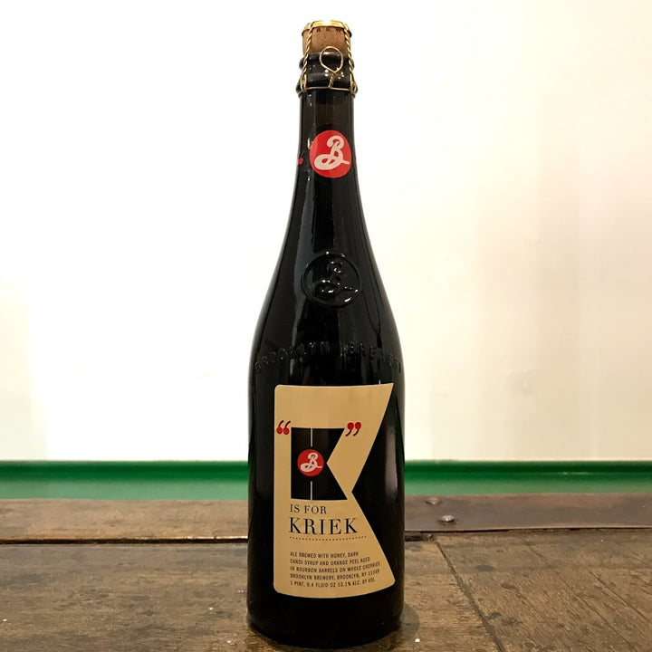 Brooklyn BQE K is for Kriek 10.1% (750ml)