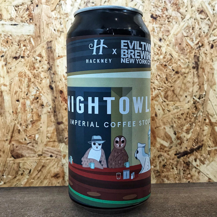 Hackney x Evil Twin Night Owls 14% (440ml)