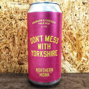 Northern Monk Don't Mess With Yorkshire Rhubarb & Custard 4.5% (440ml)