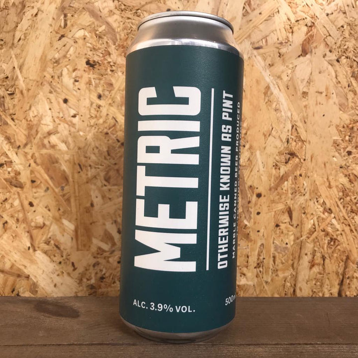 Marble Metric AKA Pint 3.9% (500ml)