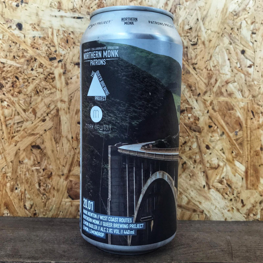 Northern Monk x Queer Beer Project West Coast Routes 2.8% (440ml)