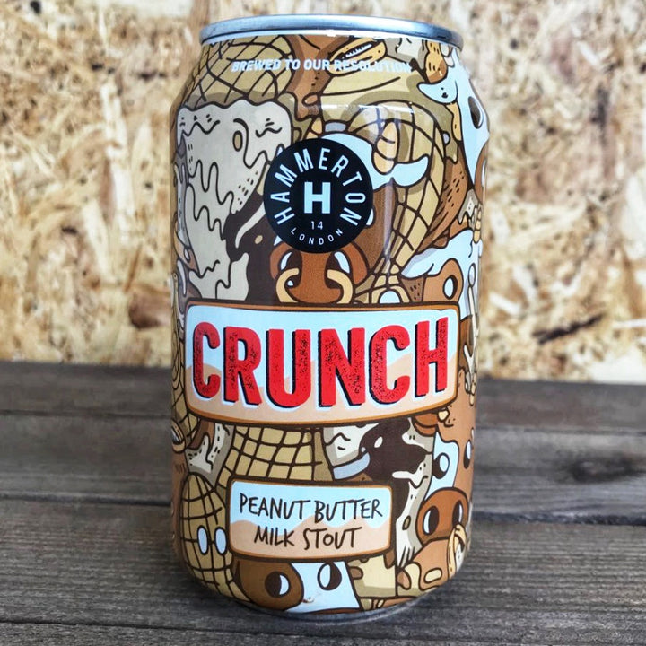 Hammerton Crunch Peanut Butter Milk Stout 5.4% (330ml)