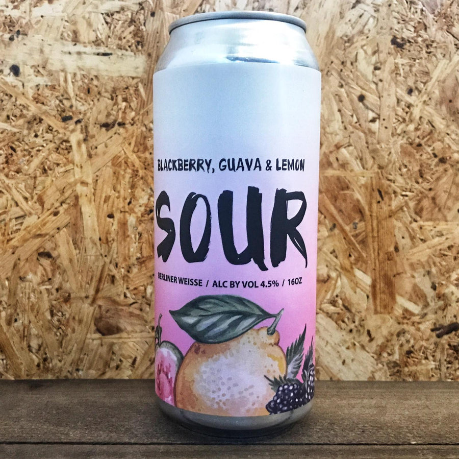 Escape Brewing Blackberry, Guava, Lemon Sour 4.5% (473ml)