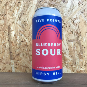 Five Points x Gipsy Hill Blueberry Sour 4.3% (440ml)