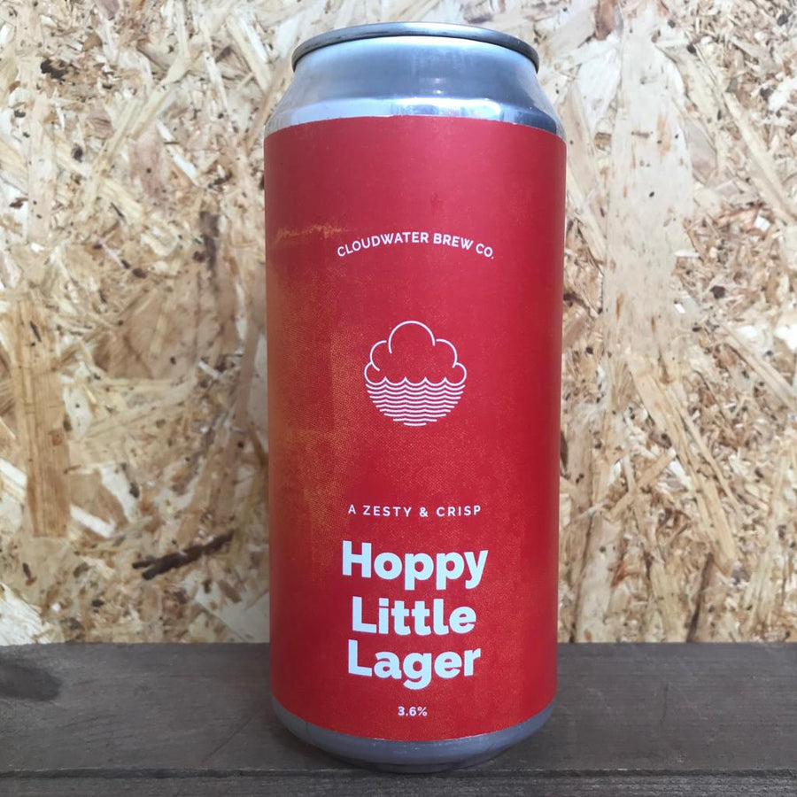 Cloudwater Hoppy Little Lager 3.9% (440ml)