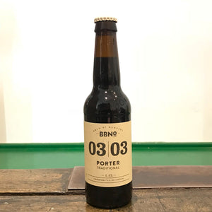 Brew By Numbers 03|03 Porter Traditional 6.6% (330ml)