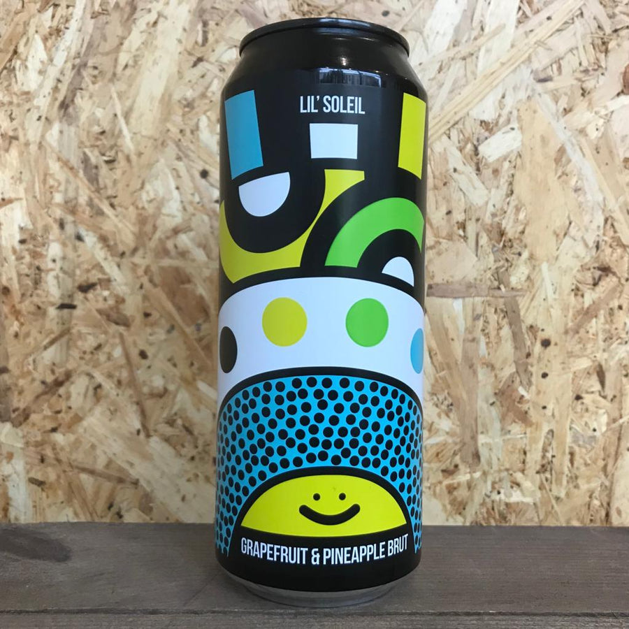 Magic Rock x People Like Us Lil Soleil Brut IPA 5.8% (500ml)