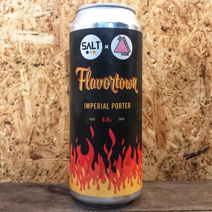 Salt x TQBP Flavortown 8% (500ml)