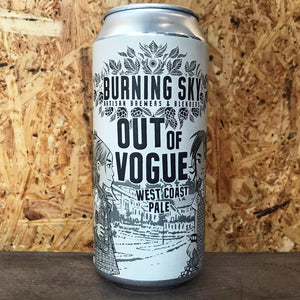 Burning Sky Out Of Vogue 5.9% (440ml)