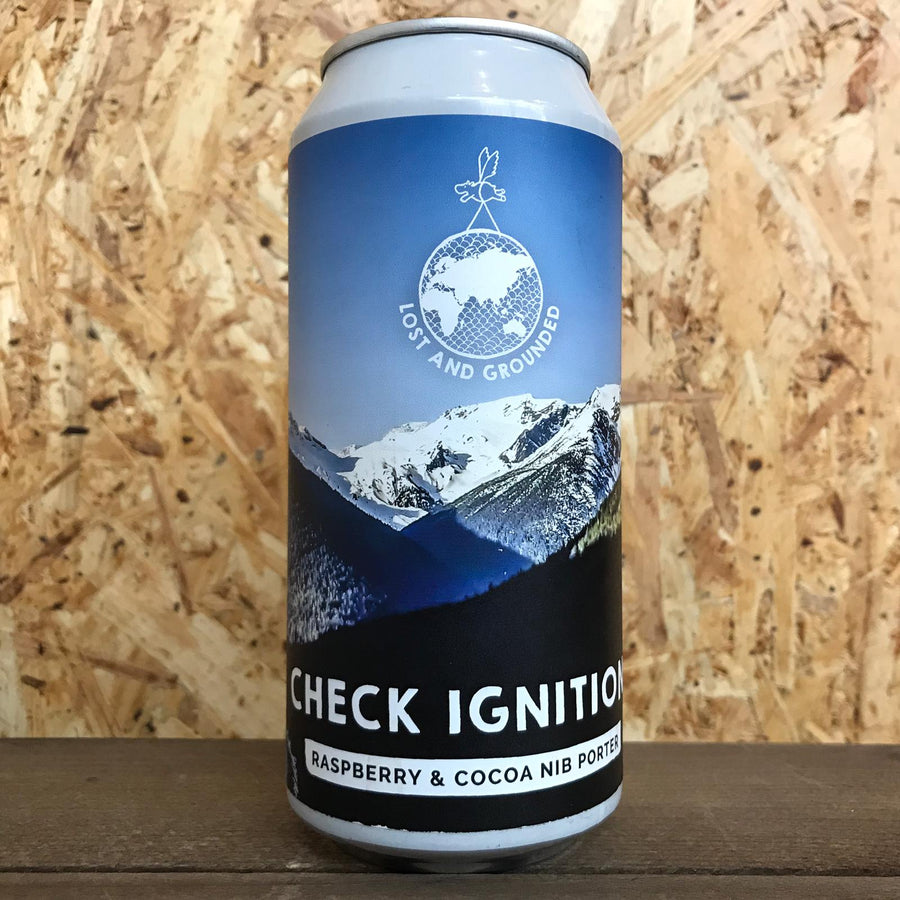 Lost and Grounded Check Ignition Porter 5.4% (440ml)