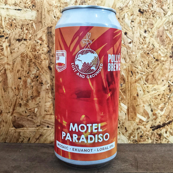Lost & Grounded x Pressure Drop x Polly's Brew Co Motel Paradiso 6.5% (440ml)