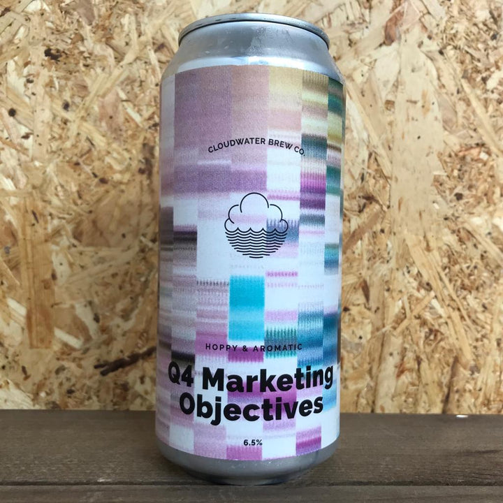 Cloudwater Q4 Marketing Objectives 6.5% (440ml)