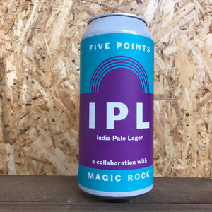 Five Points x Magic Rock IPL 6.5% (440ml)