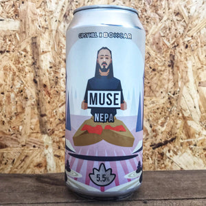 Gipsy Hill x Boxcar Muse NEPA 5.5% (440ml)