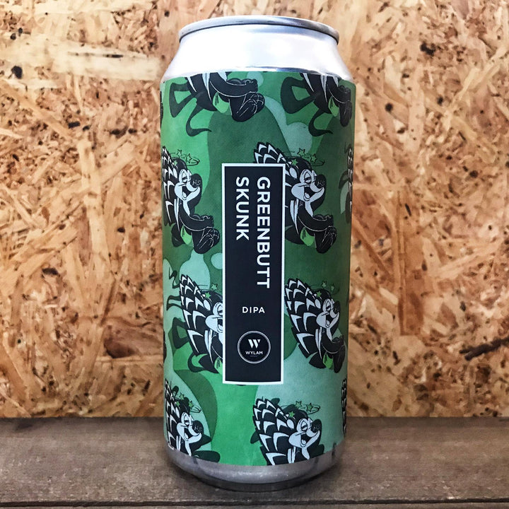 Wylam Greenbutt Skunk DIPA 8% (440ml)