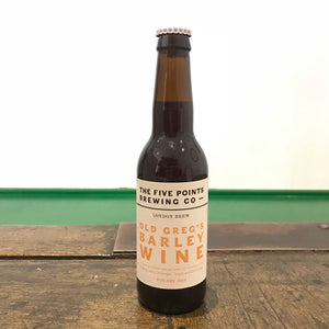 Five Points Old Greg's Barley Wine 9.3% (330ml)