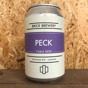Brick Peck Table Beer 3% (330ml)