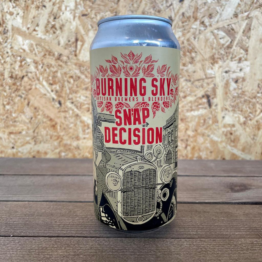 Burning Sky Snap Decision American Brown 6% (440ml)