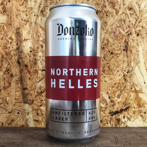 Donzoko Northern Helles 4.2% (440ml)