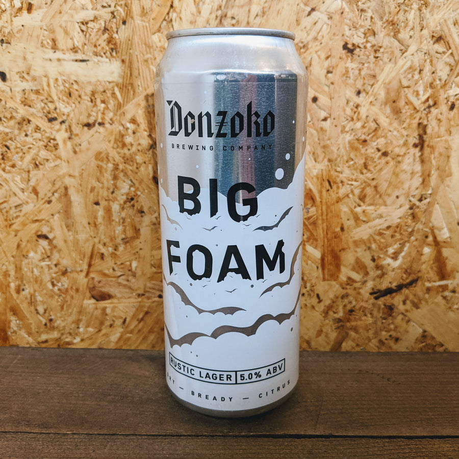 Donzoko Big Foam Rustic Lager 5% (500ml)