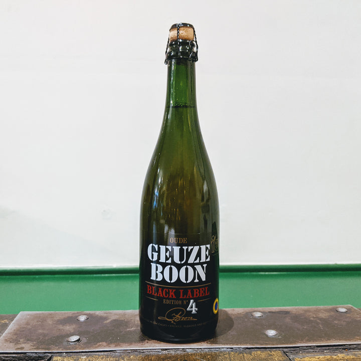 Boon Gueuze Black Label 4 7% (750ml)