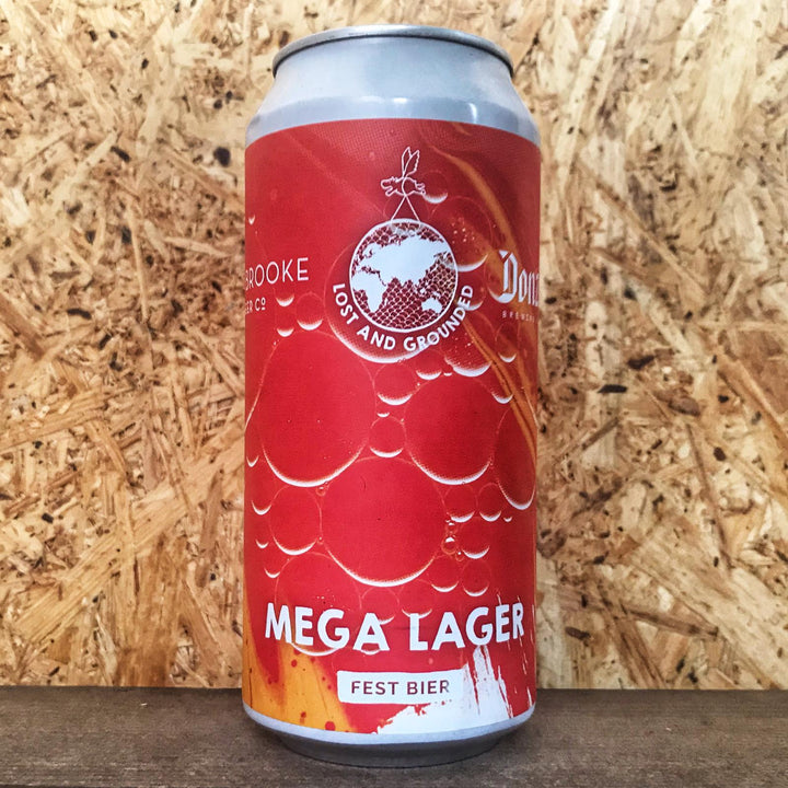 Lost Grounded x Donzoko x Braybrook Mega Lager 5.4% (440ml)