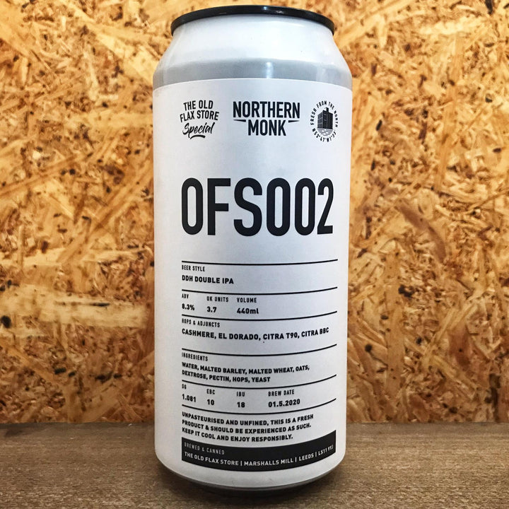 Northern Monk OFS002 DDH DIPA 8.2% (440ml)