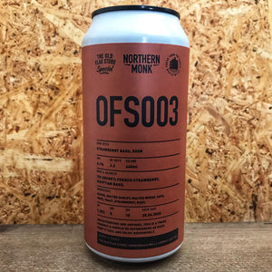 Northern Monk OFS003 Strawberry & Basil Sour 5.1% (440ml)