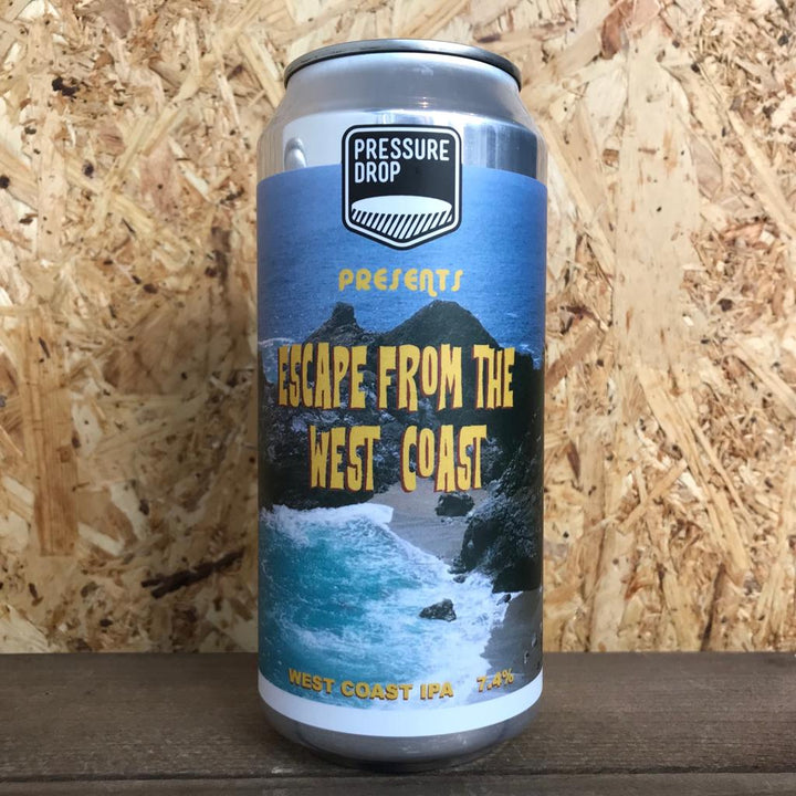 Pressure Drop Escape from the West Coast IPA 7.4% (440ml)