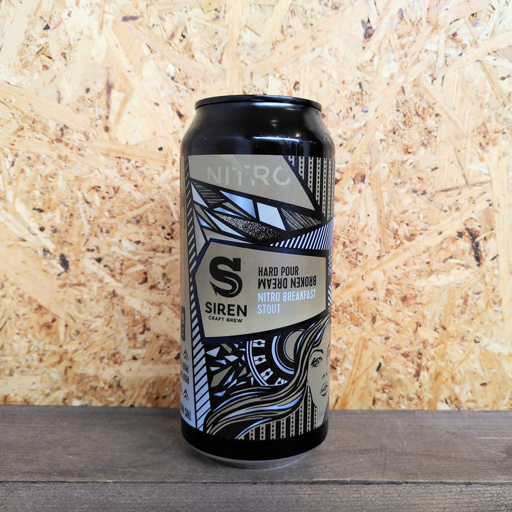 Siren Hard Pour Broken Dream Nitro Stout 6.5% (440ml)