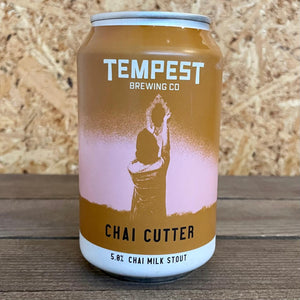 Tempest Chai Cutter Milk Stout 5% (330ml)