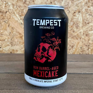 Tempest Mexicake Rum Barrel Aged 12.4% (330ml)