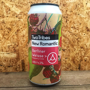 Two Tribes New Romantic Raspberry Berliner Weisse 3.6% (440ml)