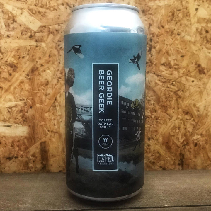 Wylam x Mikkeller Geordie Beer Geek 7.4% (440ml)