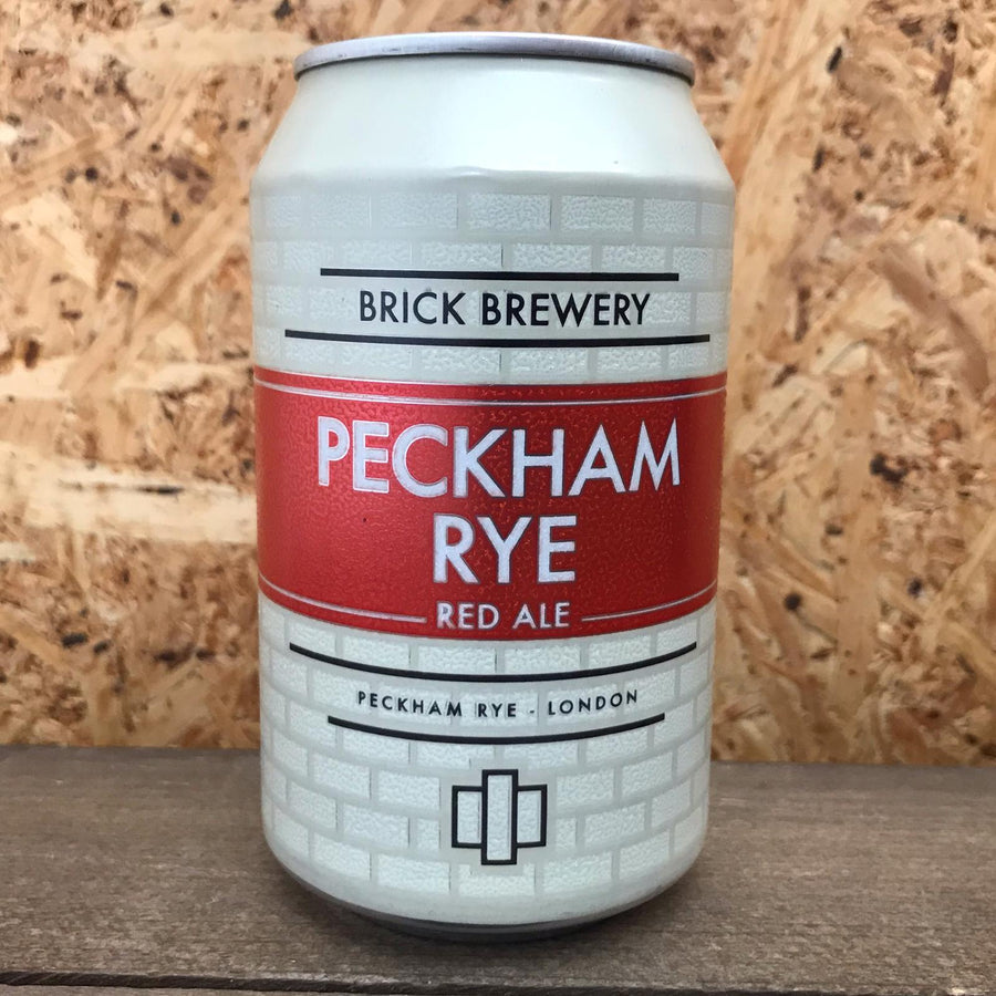 Brick Peckham Rye Red Ale 4.7% (330ml)