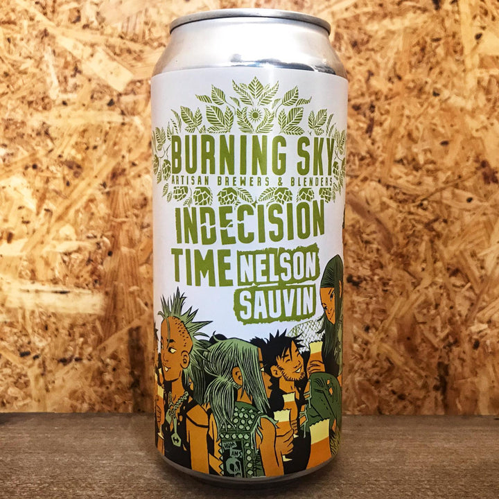 Burning Sky Indecision Time Nelson Sauvin Pale Ale 5.6% (440ml)